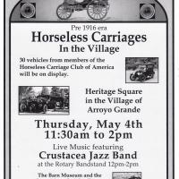 Horseless Carriages in the Village