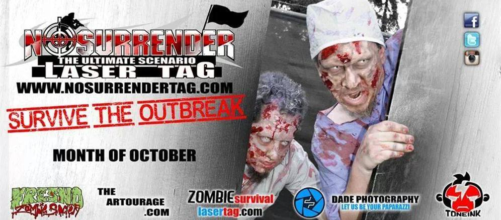 Zombie Survival Laser Tag Fresno Events Ca Commingly