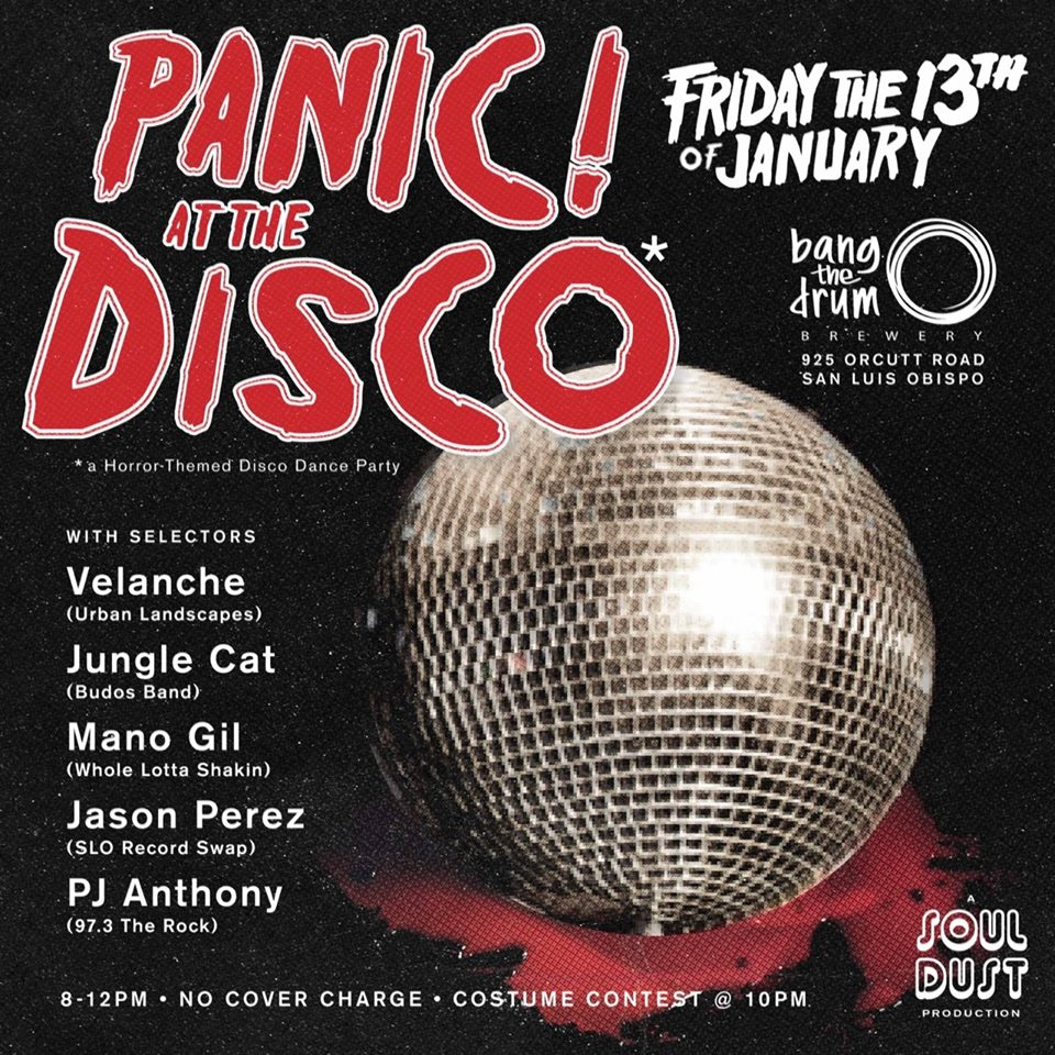 Panic! at the Disco* A Horror-Themed Disco Dance Party*