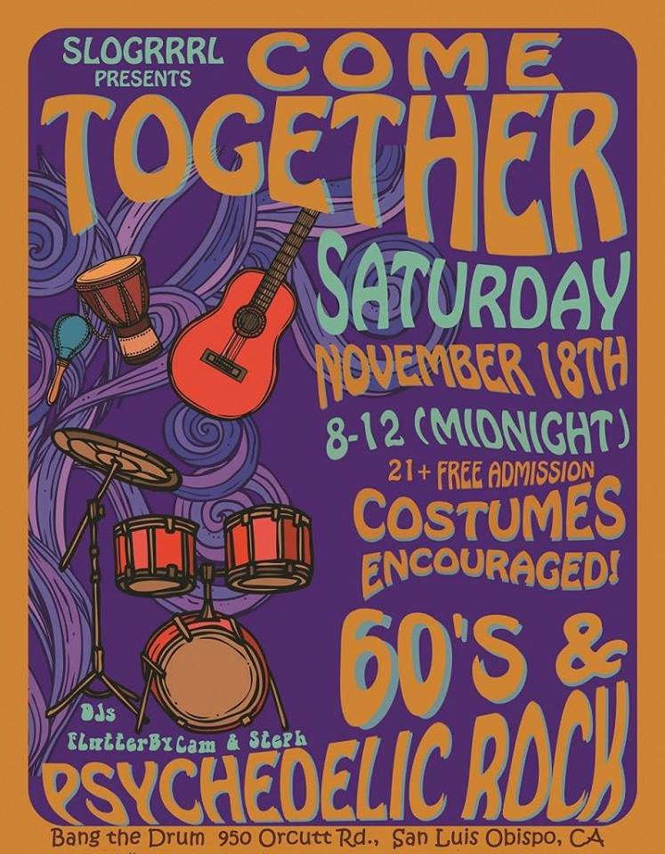 Come Together - A 60's Party