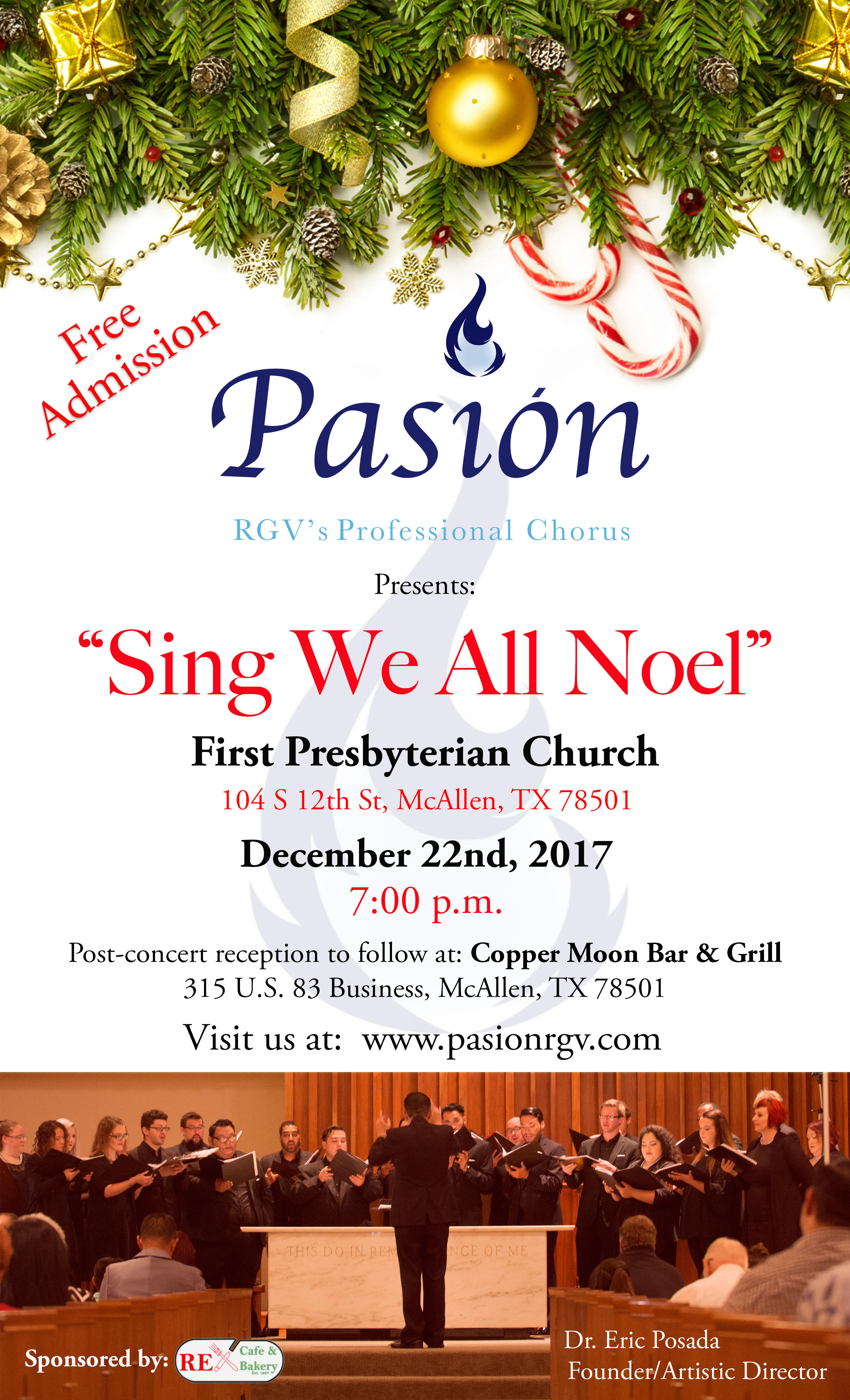 Sing We All Noel Free Christmas Concert By Pasion Rgv Professional