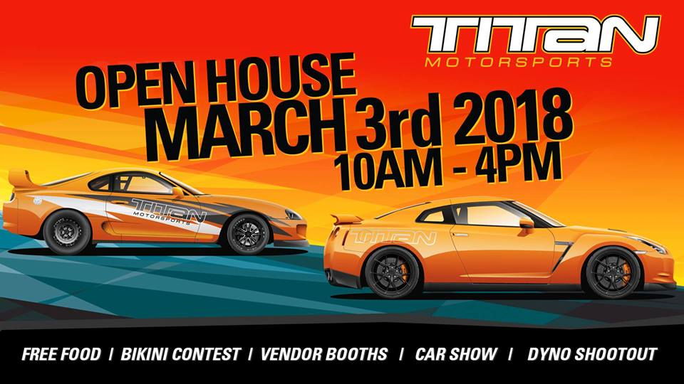 Titan Motorsports Ninth Annual Open House Orlando Events CA - Car show in orlando 2018